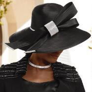 Grand Fan Church Hat by Tally Taylor