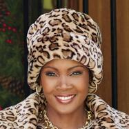 Leopardess Hat by Studio EY