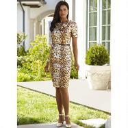 Leopardess Dress by BMJ Studio