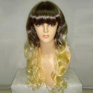 Two Tone Pop Wig