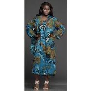 Cascade Georgette Dress and Jacket Set by JMB Signature