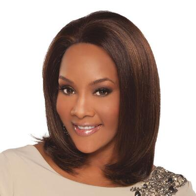 Mathilda Human Hair Lace Front Wig by Vivica Fox