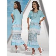 2-Pc. Tiered Skirt Set by Love the Queen by Donna Vinci
