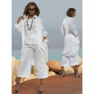 Coastal Chic Pant Set by DONNA by Donna Vinci