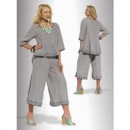 Soutache Pant Set by DONNA by Donna Vinci