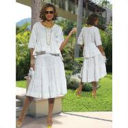 Soutache Skirt Set by DONNA by Donna Vinci