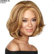 Big-Wave Bob Lace Front Wig by Sherri Shepherd™ LUXHAIR™ NOW™