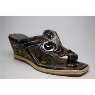 Wonderland Swirl Wedge Sandals by John Fashion™