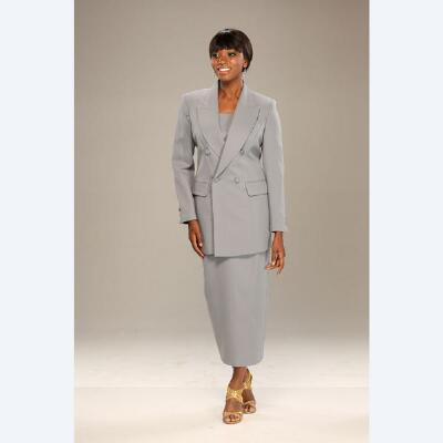 2-Piece Double-Breasted Choir Robe Suit by BenMarc