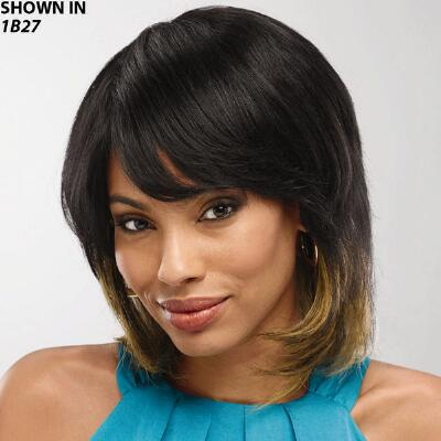Nancy Human Hair Wig from Wet 'n' Wavy Collection