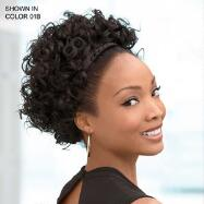 Loose Curls with Braided Headband by Especially Yours®