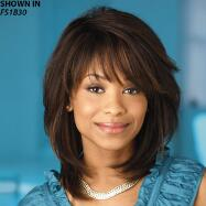 Hilary Human Hair Wet 'n' Wavy Wig by Especially Yours®