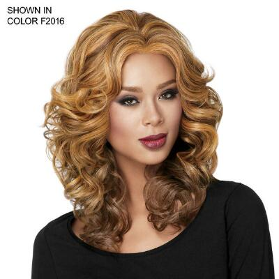 Casual Lace Front Curl Wig from NOW™ by Sherri Shepherd™