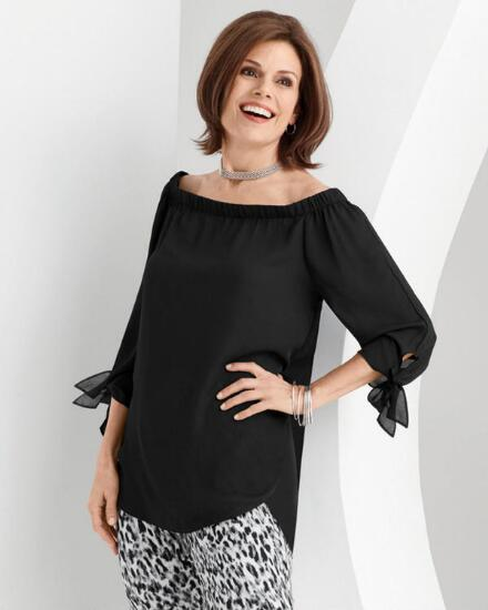 Touch of Shoulder Top
