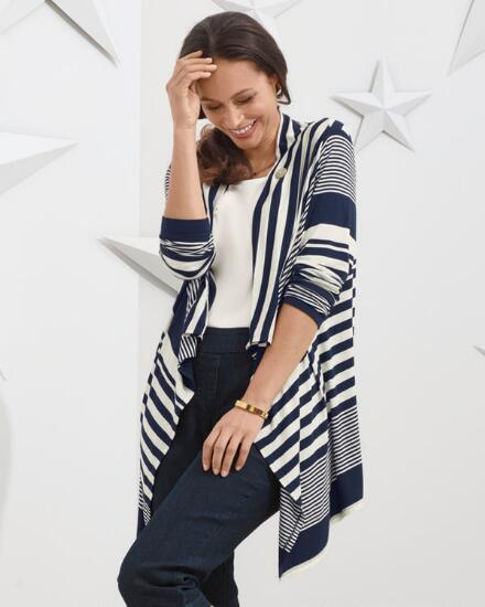 Stripe It Right Cardi