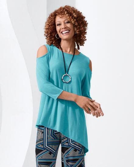 Modern Muse Solid Tunic - Women
