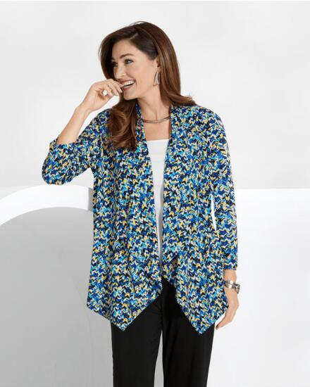 AM to PM Print Cardi