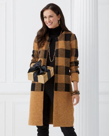 Coat Check Sweater Coat