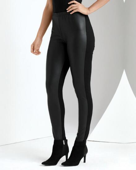 In Style Faux Leather Pant