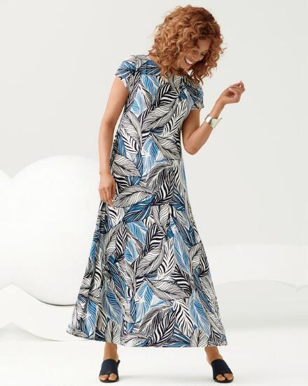 New Leaf Maxi Dress