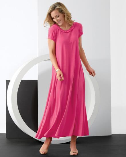 Twisted Braid Maxi Dress
