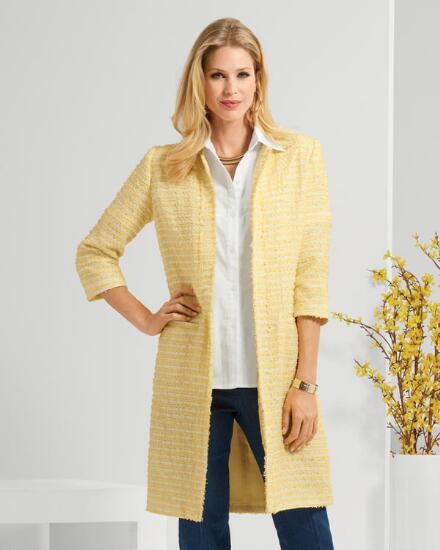 Très Chic Tweed Duster