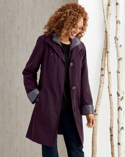 On-the-Go Hooded Coat