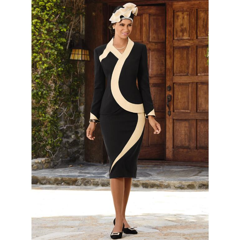 Dazzling Curves Suit by Elite Champagne