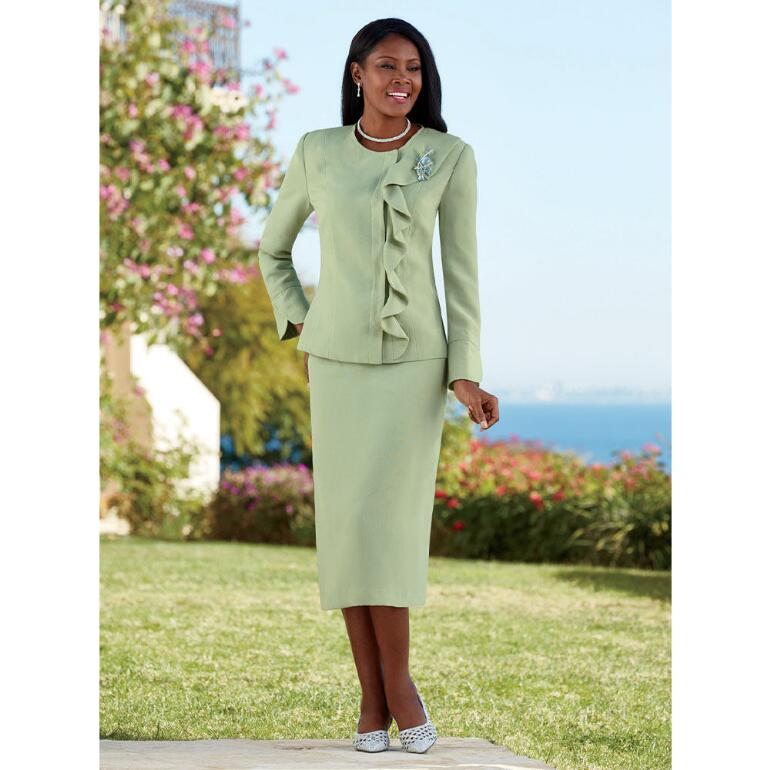 Refreshing Ruffles Suit by EY Signature