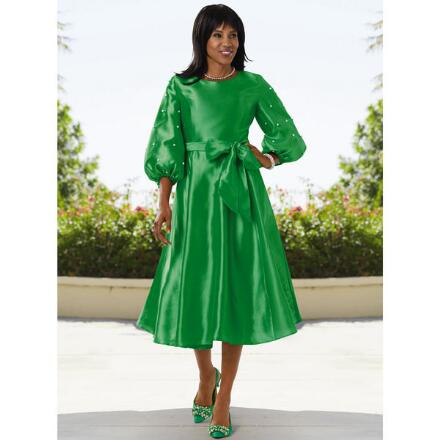 Pleasing Sleeves Dress by EY Boutique