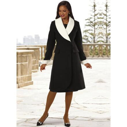 Make an Impression Coat by LUXE
