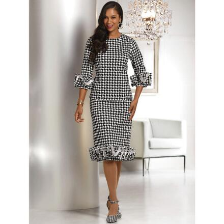 Mad About Houndstooth Skirt Set by Studio EY