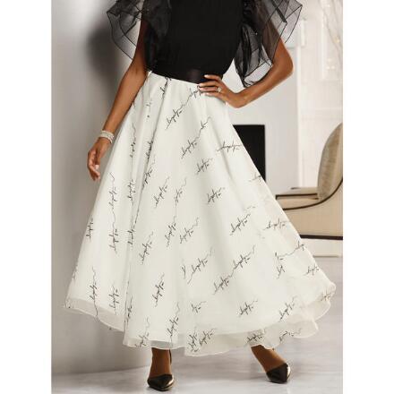 Savvy Signature Organza Skirt by Studio EY