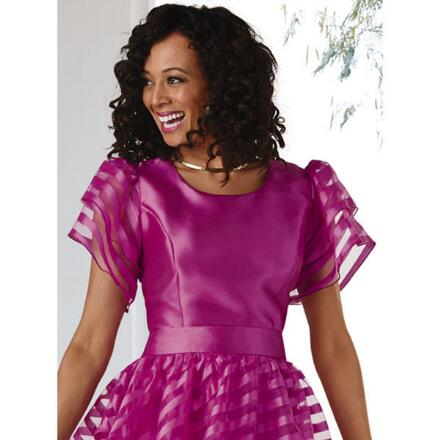 Touch of Ruffles Top by Dorinda Clark-Cole