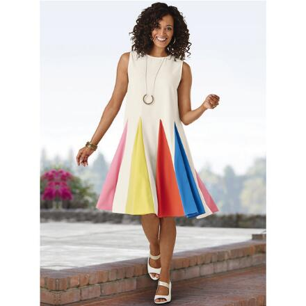 Full of Fun Spectrum Dress by Studio EY