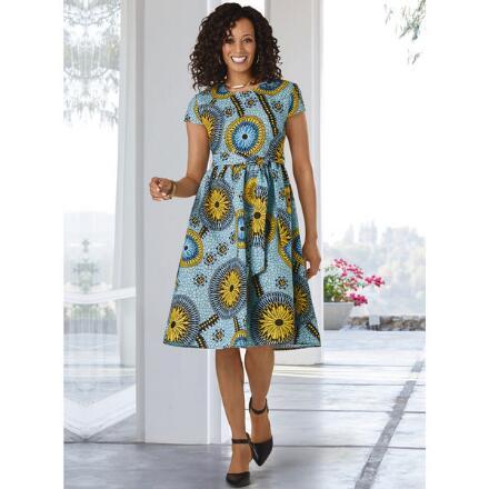 Sabra's Sunflower Dress by Studio EY