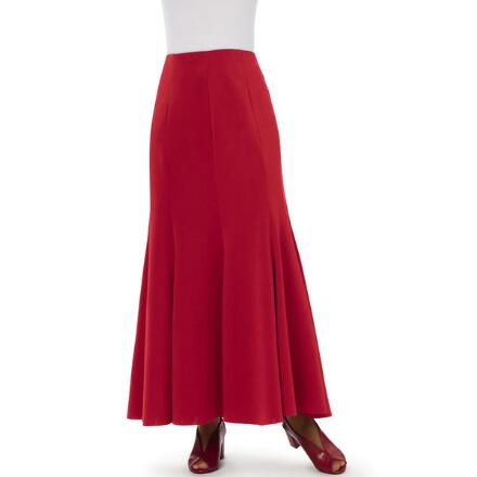 Flare Necessity Knit Skirt by Studio EY