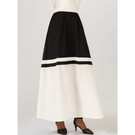 Border Blocked Maxi Skirt by Studio EY