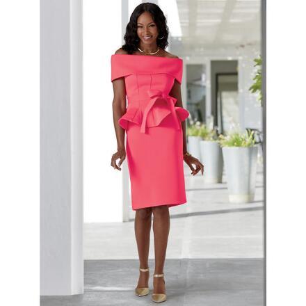 On-Trend Off-Shoulder Skirt Set by Studio EY