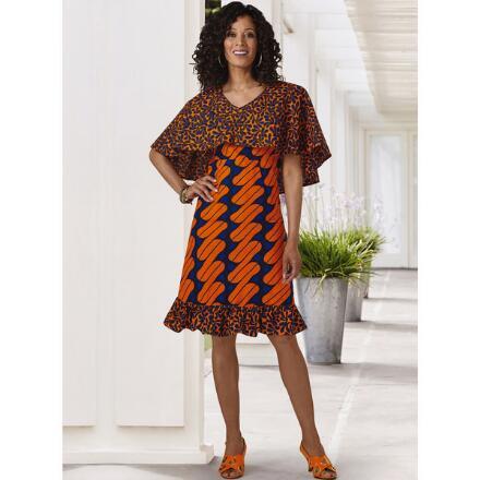 Deandra's Double-Print Dress by Studio EY