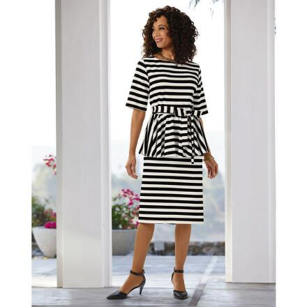 All the Right Stripes Skirt Set by Studio EY