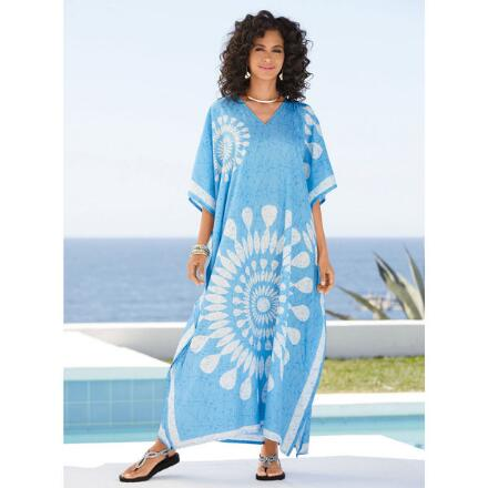 Icebreaker Print Microfiber Long Caftan by EY Signature