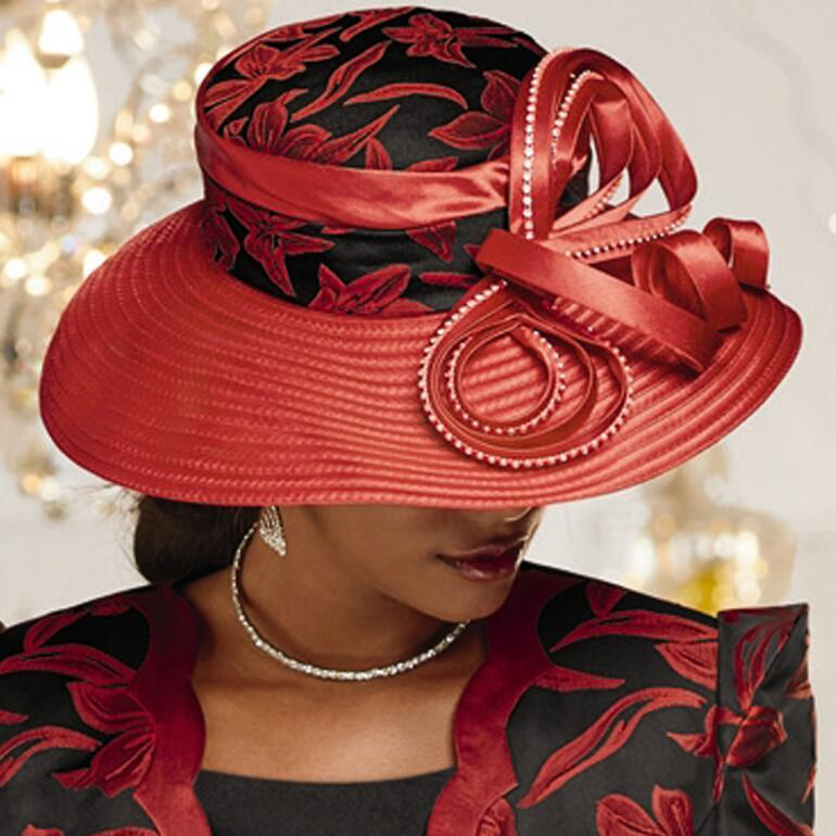 Opulent Option Church Hat by Dorinda Clark-Cole