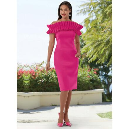 Rich with Ruffles Dress by EY Boutique