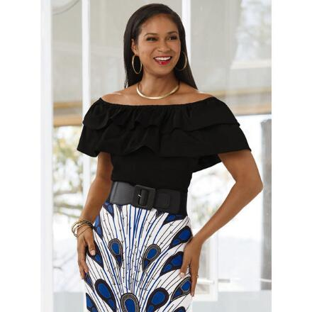 Never Enough Ruffles Top by Studio EY