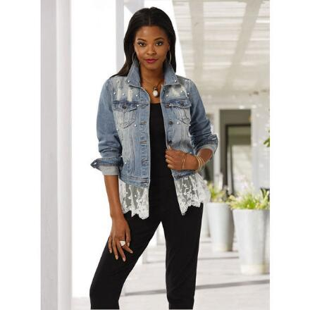 Next Level Denim Jacket by Live a Little