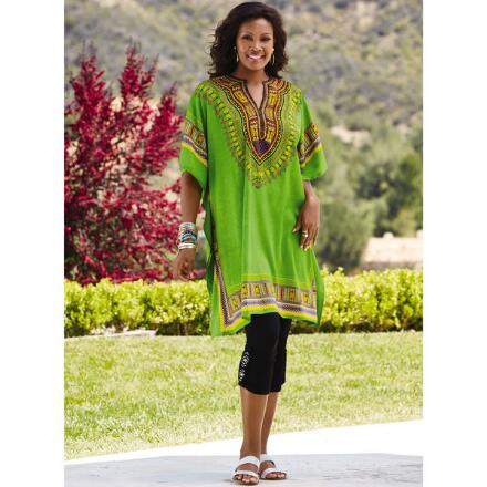 Microfiber Tunic Caftan 3 by Studio EY