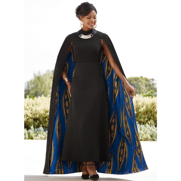 Grand Cape Dress by Studio EY