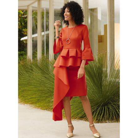 Cascade in Style Skirt Set by EY Boutique