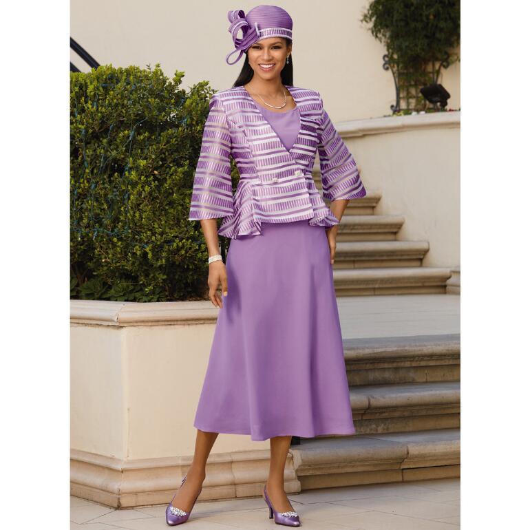 Elite 'n' Lovely 3-Pc. Suit by EY Boutique
